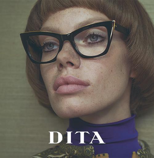 003410fc2425a4 Dita Eyewear  unieke brillen met een eigenzinnige twist